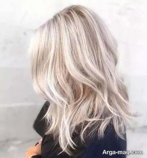 رنگ مو روشن کاهی