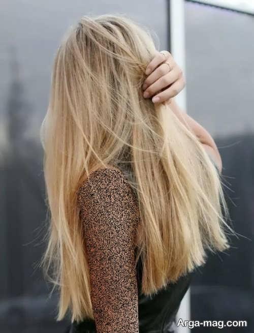 رنگ مو کاهی زیبا