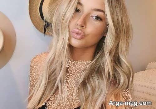 رنگ مو کاهی زنانه