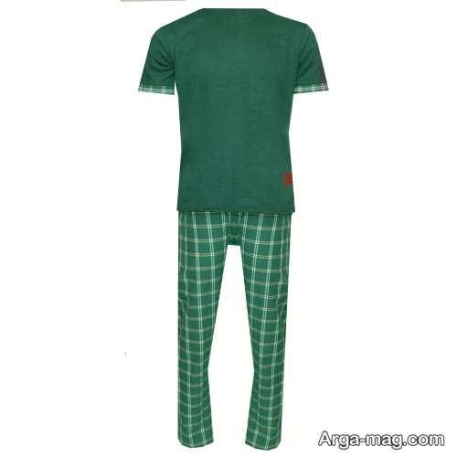 بلوز و شلوار سبز مردانه