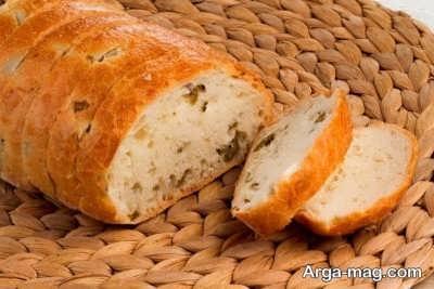 طرز تهیه نان زیتون
