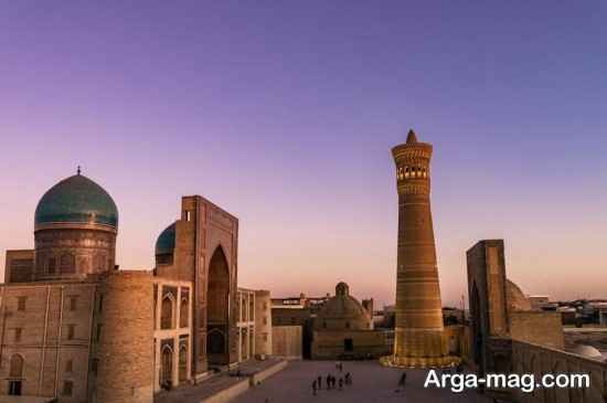جاذبه های تاریخی ازبکستان