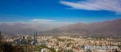 راه های مهاجرتی شیلی