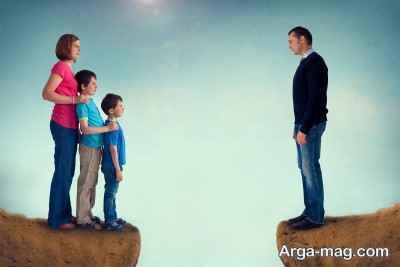 مشکل بعد از طلاق چیست