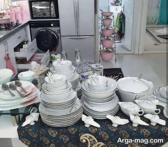 ایده های زیبای تزیینات جهیزیه عروس ۱۴۰۰
