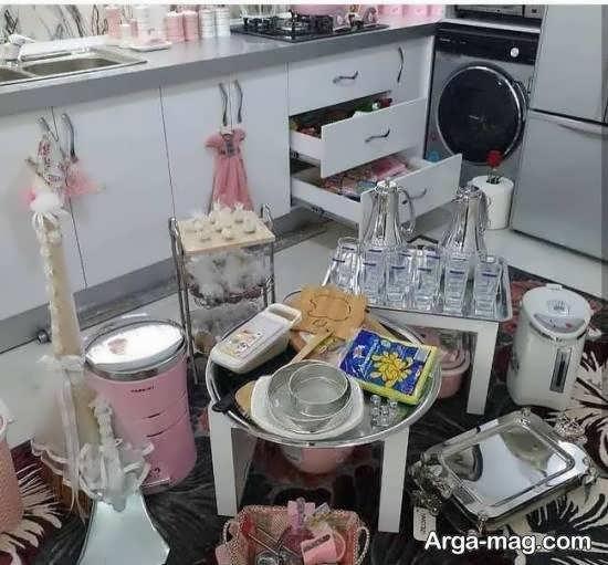 ایده های جالب دیزاین جهیزیه عروس ۱۴۰۰