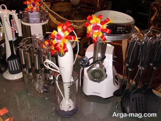 تزیینات شیک جهیزیه عروس ۱۴۰۰