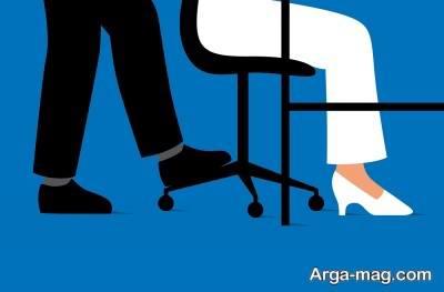 آزار جنسی زنان در کار