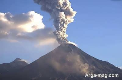 شناخت آتشفشان ها در جهان