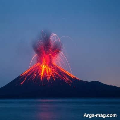شناخت آتشفشان قله کامرون