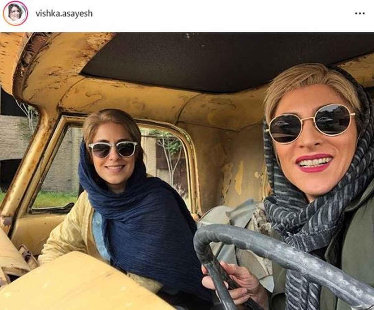 """عکس های گلچین ویشکا آسایش بازیگر سریال """"دراکولا"""""""