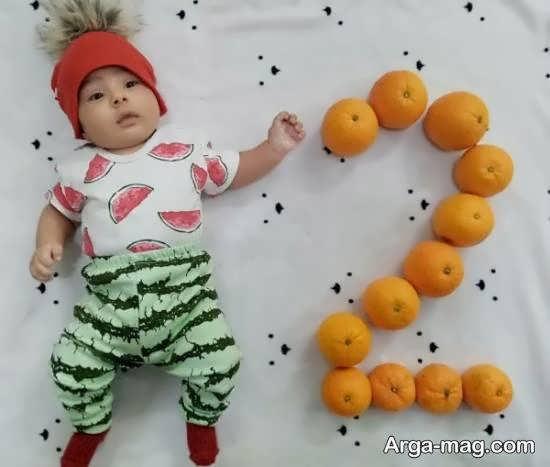 تزیینات زیبا و خارق العاده ی ماهگرد نوزاد