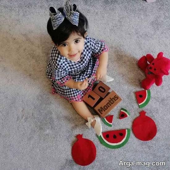 تزیینات خارق العاده و خلاقانه ماهگرد نوزاد