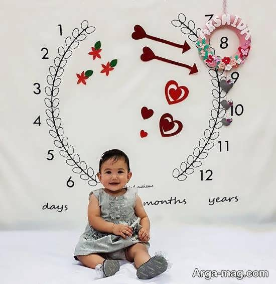 الگوهایی بینظیر و فوق العاده از تزیینات ماهگرد نوزاد