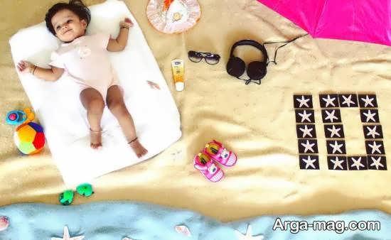 دیزاین و زیباسازی ماهگرد نوزاد