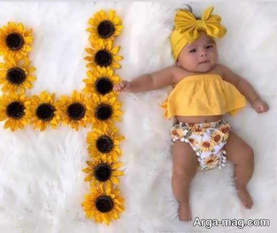 انواع نمونه های فوق العاده و منحصر به فرد تزیین ماهگرد نوزاد