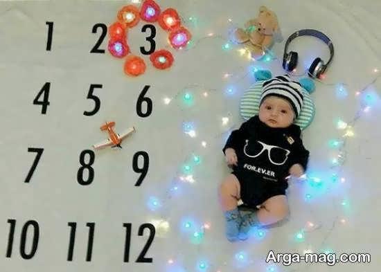 نمونه های جالب تزیین ماهگرد نوزاد