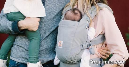 طرح های شیک از آغوشی نوزاد