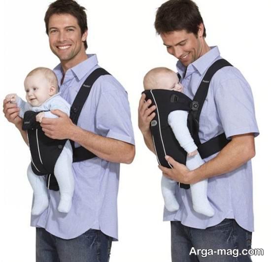 نمونه آغوشی نوزاد جذاب