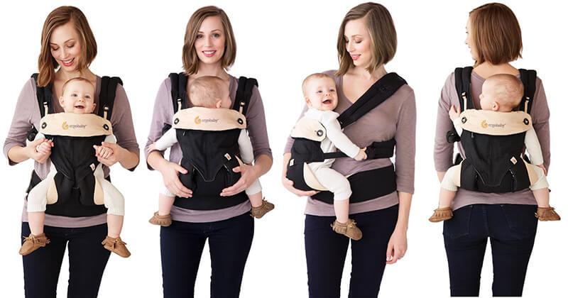 آشنایی با انواع مدل آغوشی نوزاد