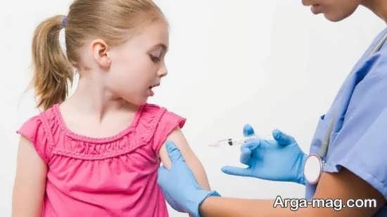 جدول زمان های واکسیناسیون نوزاد