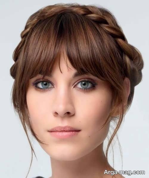 بافت موی زنانه چتری