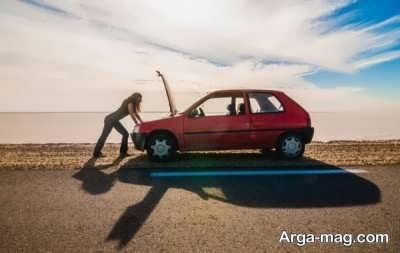 مراقبت از اتومبیل در هوای گرم
