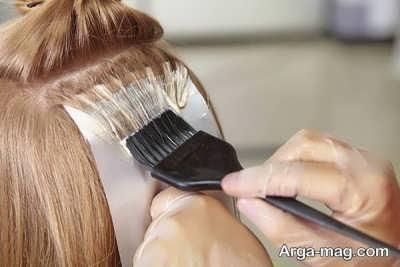 محافظت از موی رنگ شده