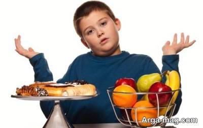 غذا های چرب را برای کودک خود محدود کنید.