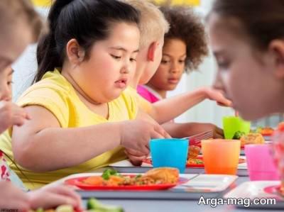 جلوگیری از چاقی کودکان