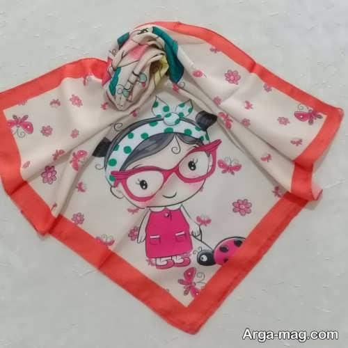 روسری طرح دار کودک