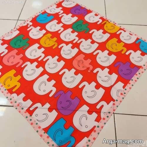 روسری زیبا و طرح دار مخصوص کودک