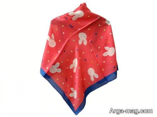 روسری قرمز بچه گانه