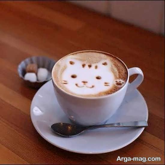 ایده هایی زیبا و جذاب از دیزاین قهوه