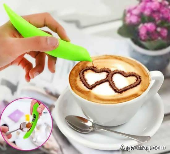 ایده هایی زیبا و شیک از تزیین قهوه