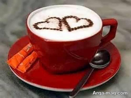 تزیینات زیبا و دوست داشتنی قهوه