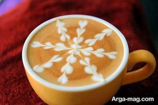 ایده های کاربردی از تزیین قهوه