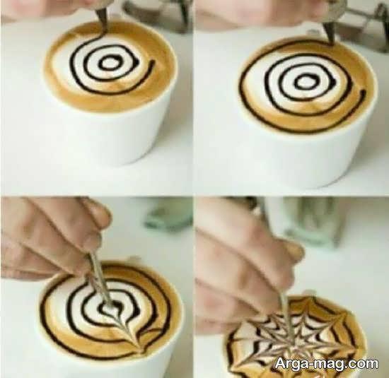 انواع ایده هی زیبا و شیک تزیین قهوه