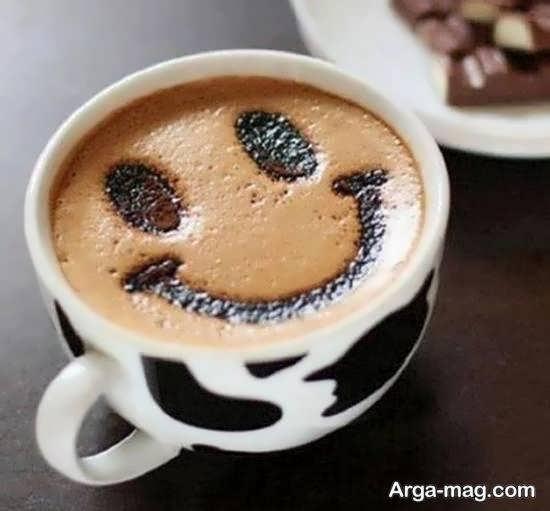 نمونه هایی منحصر به فرد از دیزاین قهوه
