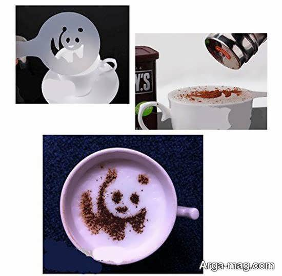 ایده هایی زیبا و دوست داشتنی از تزیین قهوه