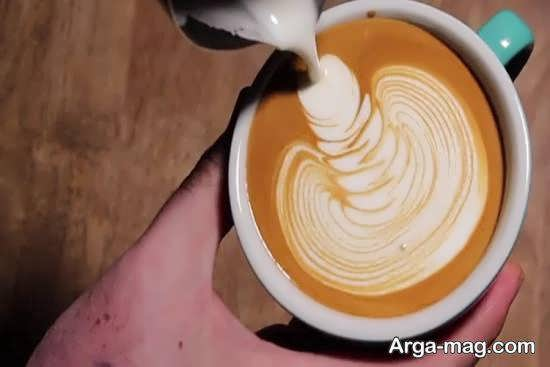 تزیین قهوه به شکل هایی دوست داشتنی و خاص