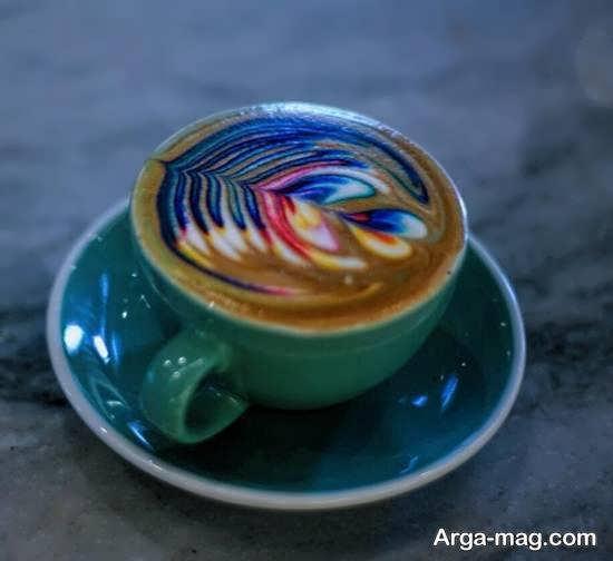 ایده هایی زیبا و منحصر به فرد از تزیین قهوه
