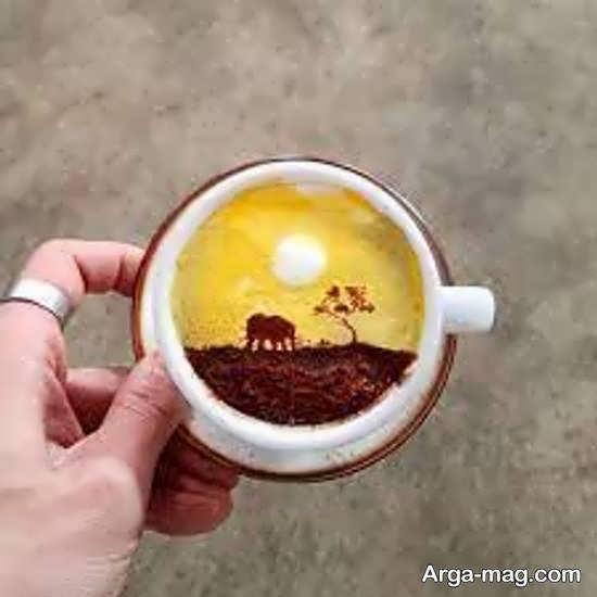 ایده های منحصر به فرد از دیزاین قهوه