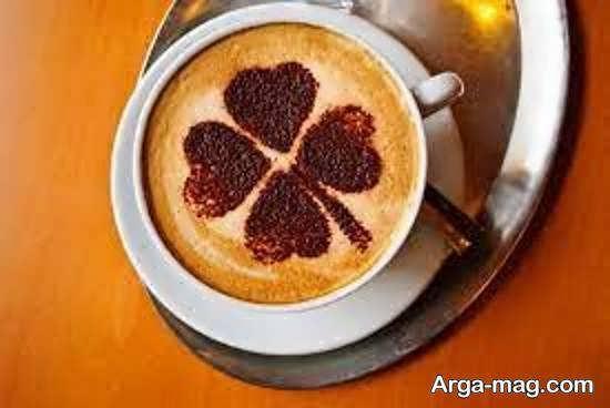 نمونه های بینظیر تزیین قهوه