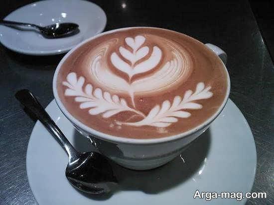 نمونه هایی ایده آل از تزیینات قهوه