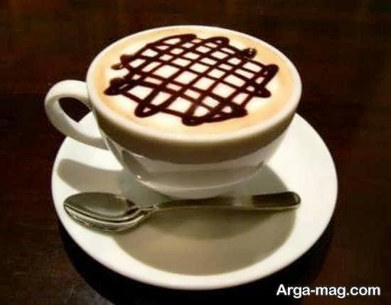 طرح های زیبا و متفاوت از تزیین قهوه