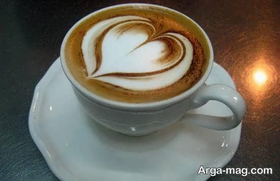 طرح هایی جالب از تزیین قهوه