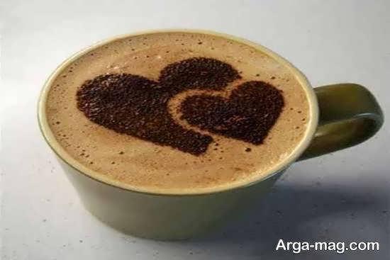 نمونه هایی بینظیر و دوست داشتنی تزیین قهوه