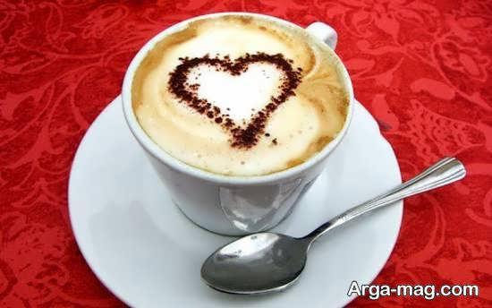الگوهایی ایده آل و زیبا از تزیین قهوه