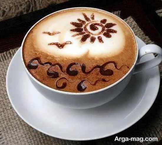 نمونه های ایده آل و شیک از تزیینات قهوه